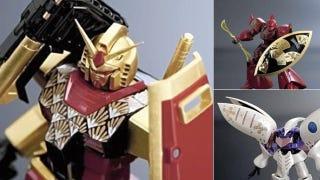 Illustration for article titled Gundam in Gold Leaf