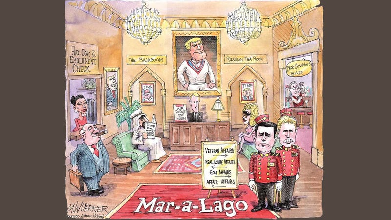 Illustration for article titled [ P O L I T I C A L ] Cartoon