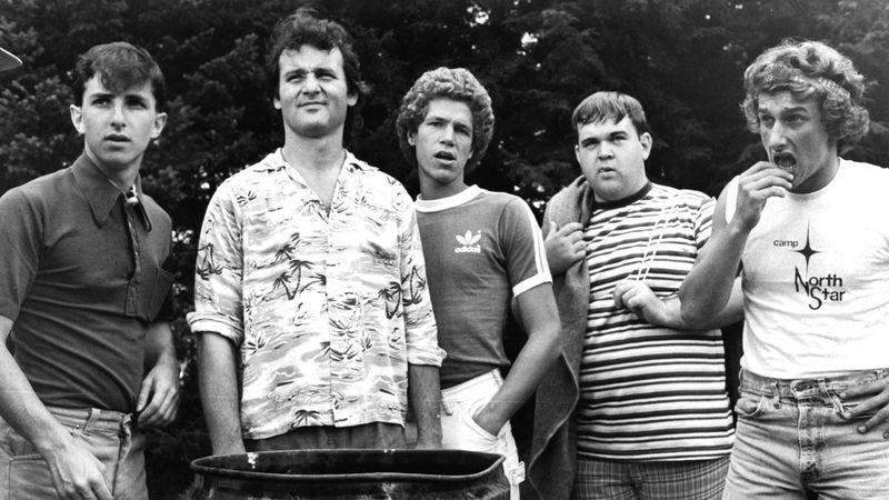 Jack Blum, Bill Murray, Russ Banham, Keith Knight, and Matt Craven in Meatballs, 1979. (Photo: Paramount/Getty Images/Michael Ochs Archives)