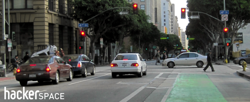 Illustration for article titled Commuting by Bike: Signaling, Common Intersections, and Traffic