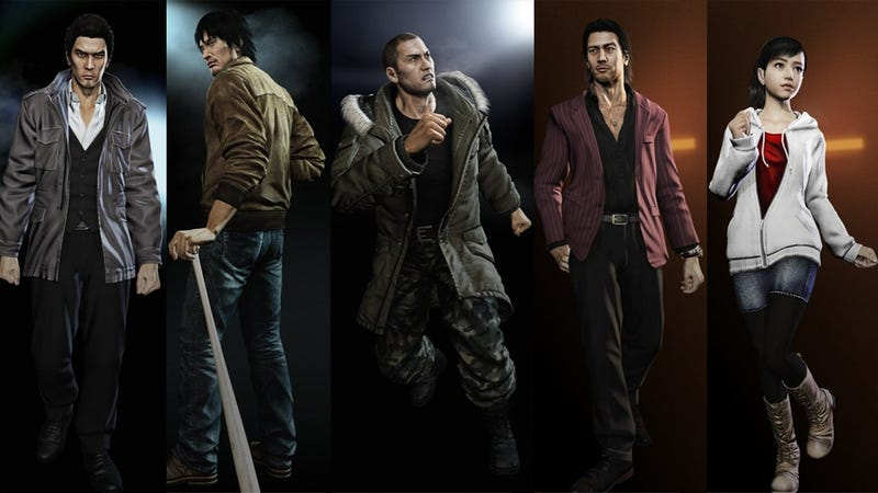 Illustration for article titled Yakuza 5 Plot Sounds Epic, But There Will Still Be Porn Stars