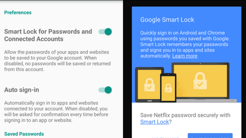 Illustration for article titled Google Smart Lock Saves Your Passwords, Logs In on Chrome and Android