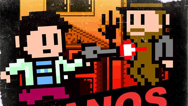 Illustration for article titled Live the adventure in an 8-bit Manos: The Hands Of Fate