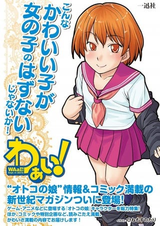 New Japanese Comic Publication WAaI Boys In Skirts Is Hoping To Capitalize On The Video Game