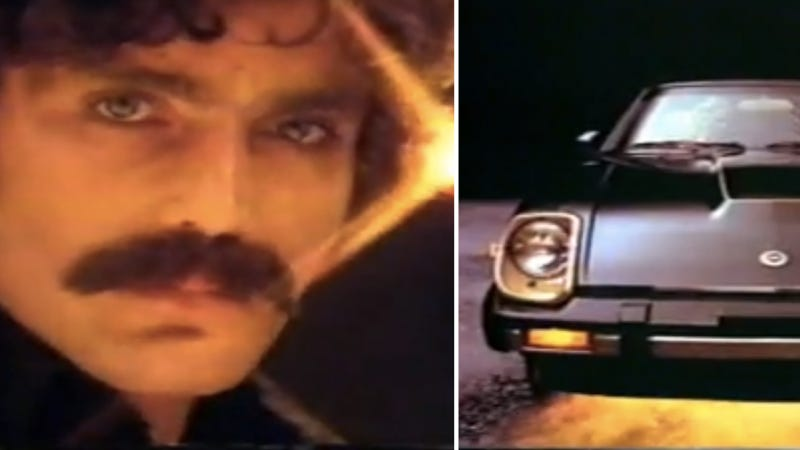 Illustration for article titled A History Of Nissan Z Commercials As Ranked On A Scale Of John Oates Mustaches