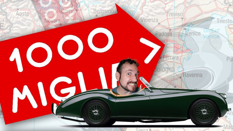 Illustration for article titled I'm Going To Drive In The Mille Miglia!