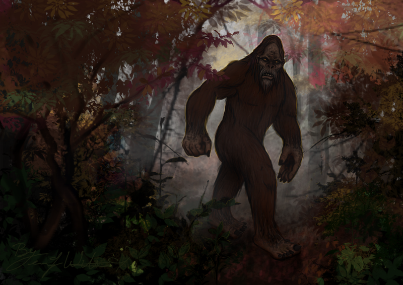 Illustration for article titled Did Bigfoot Just Visit Britain? Watch The Video And Judge For Yourself!