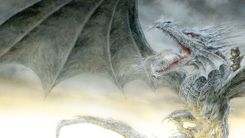 Illustration for article titled George R.R. Martin to re-release The Ice Dragon, his Game Of Thrones children's book