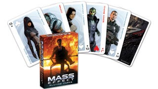 Illustration for article titled Get a Cerberus Flush with Mass Effect (and Dragon Age) Playing Cards