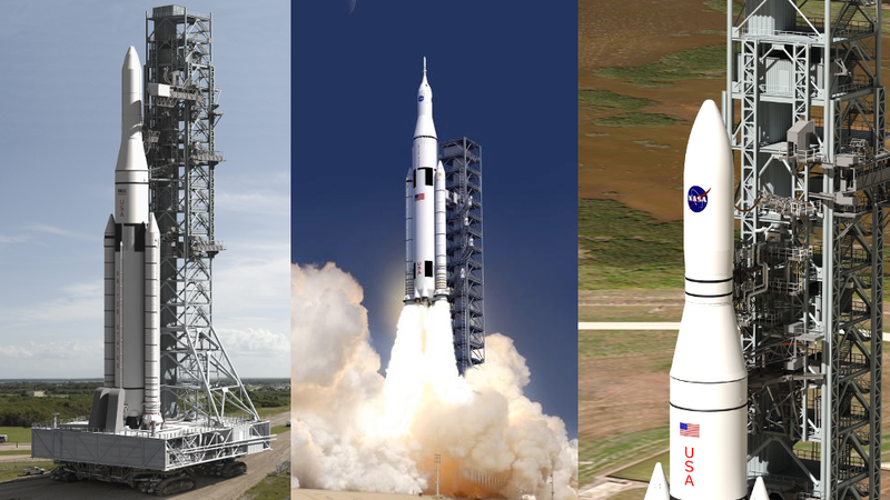 NASA Names Rockets for Moon and Mars Missions