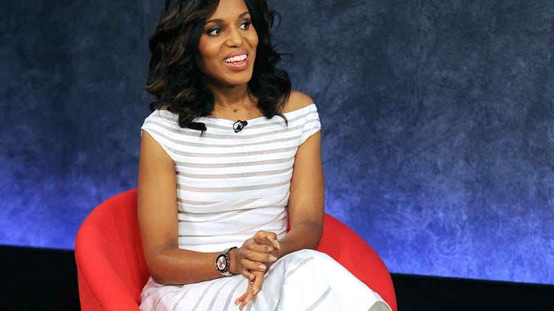 Illustration for article titled Kerry Washington: On Scandal, the Gov't Shutdown Would've Been Handled