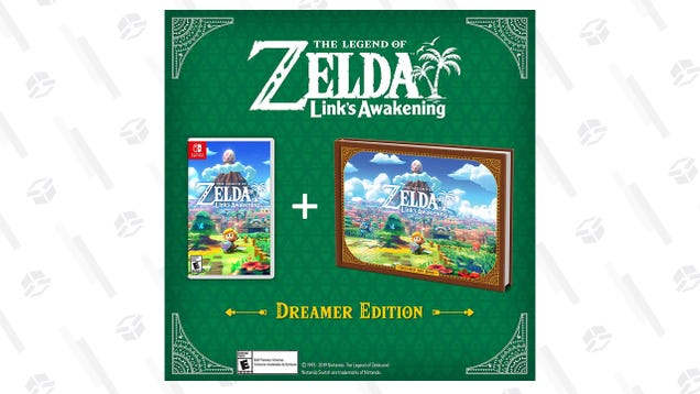 Link's Awakening Dreamer Edition and Amiibo Are Back In Stock, If You Hurry