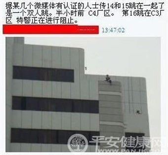 Illustration for article titled Foxconn Jumps Reach 15...Potential 16 Spotted On the Roof