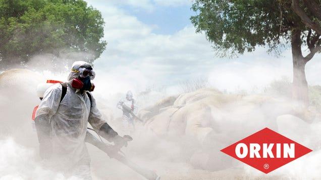 Orkin Introduces New Extinction Service For Eliminating Pesky Animal Species