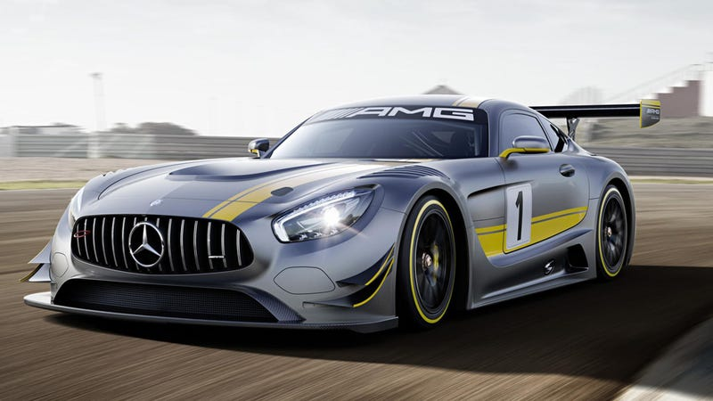 The mercedes amg gt3 goes old school on your ass with a 6 for Mercedes benz amg 6 3 liter v8 price