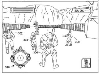 Illustration for article titled Microsoft Patents Drop-In Co-Op In Shooters