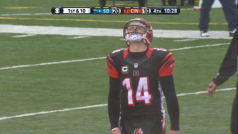 Illustration for article titled Andy Dalton Is Just Having A Bad Day