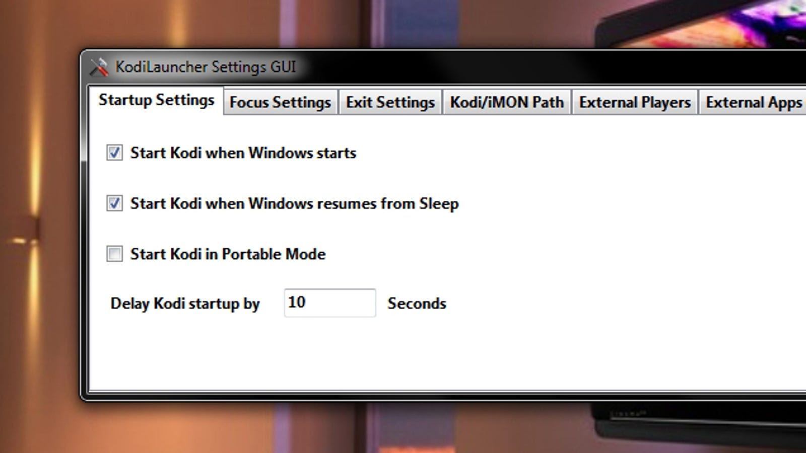 KodiLauncher Stops Kodi from Losing Focus (and Fixes Other Annoyances)
