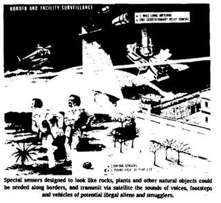 Illustration for article titled Border Surveillance of 1990 (1977)