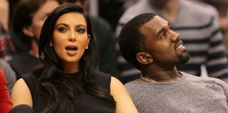 Kim Kardashian and Kanye West (Victor Decolongon/Getty Images)