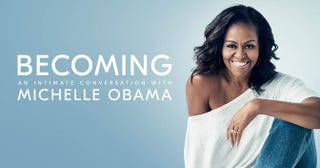 Illustration for article titled #ForeverFirstLady Michelle Obama Announces New Memoir and Book Tour
