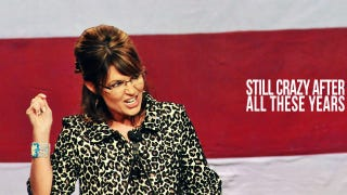 Illustration for article titled Palin Hints At Presidential Run, Ruins Christmas
