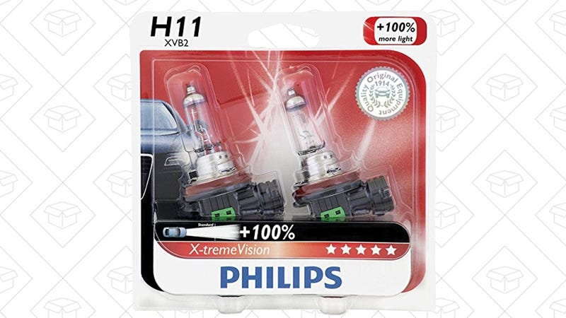 20% Off Philips X-tremeVision Headlight Bulbs | Amazon