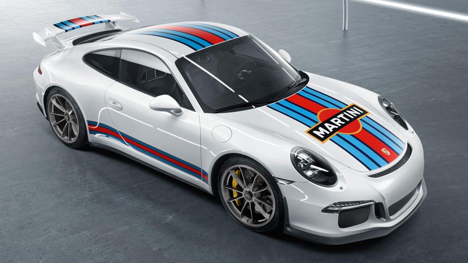 Porsche Martini Racing Design Decals