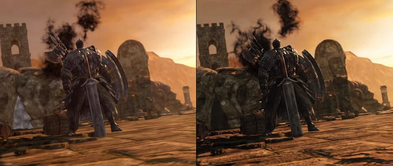 Illustration for article titled Comparativa de Dark Souls II en PS4 vs PS3: aquí sí hay diferencia