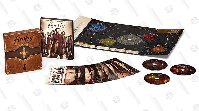 Firefly 15th Anniversary Set   $15   Amazon