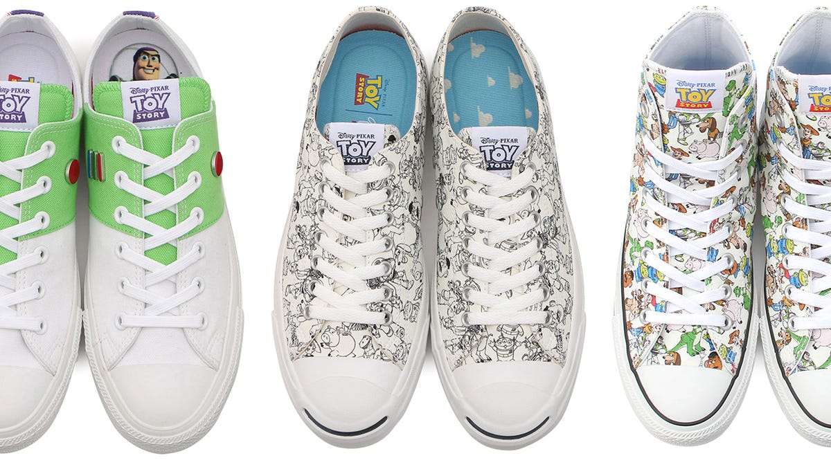 6733ad0d8dc2 Converse Teamed Up With Pixar to Put Toy Story Characters on Your Classic  All Stars
