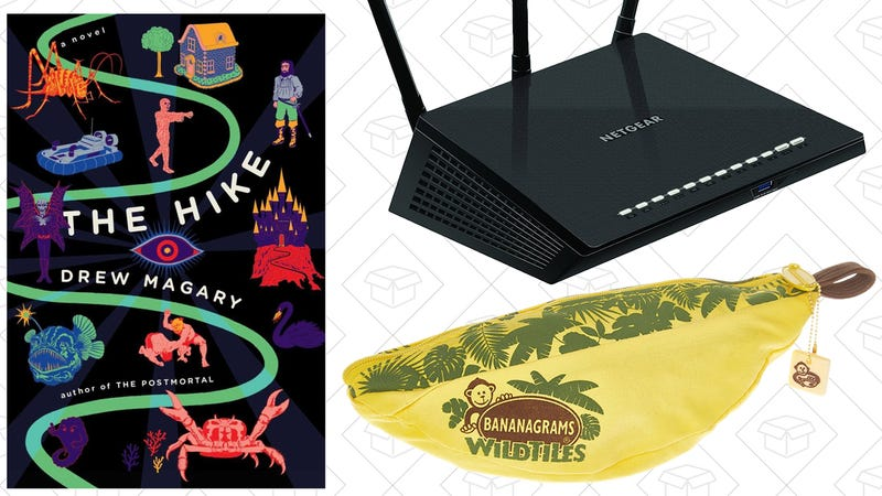 Illustration for article titled Today's Best Deals: Router Blowout, The Hike, J.Crew Factory, and More