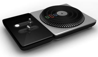 Illustration for article titled DJ Hero Impressions: One Turntable and a Plastic Guitar