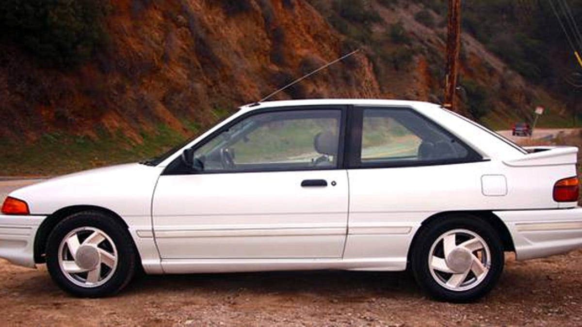 For 3000 this 1991 ford escort gt says take me out
