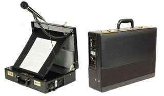 Illustration for article titled Orator's Briefcase PA System For Impromptu Speeches