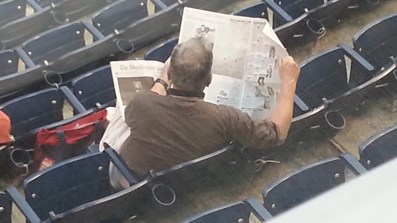 Illustration for article titled Baseball Fan Finds Death Less Boring Than Baseball