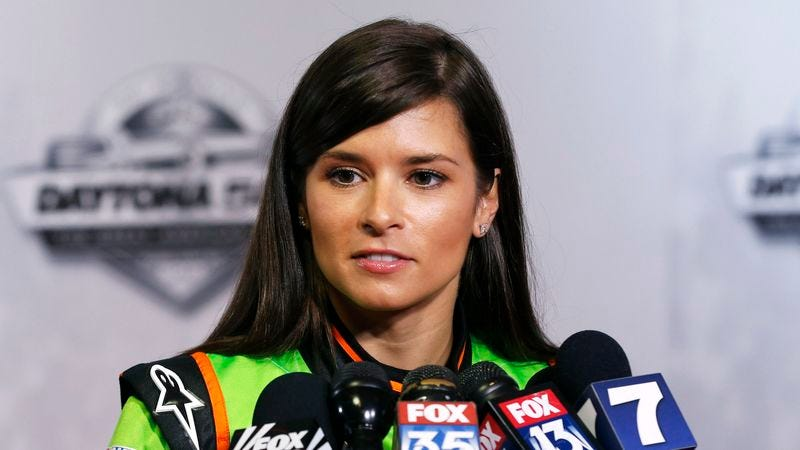 Illustration for article titled Danica Patrick Lauded For Breaking Down Barriers For Attractive Women