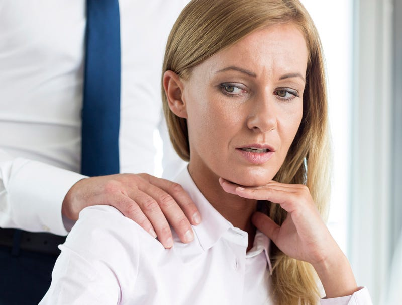 Illustration for article titled Woman Who Shrugged Out Of Boss's Shoulder Rub Taking No Shit Today