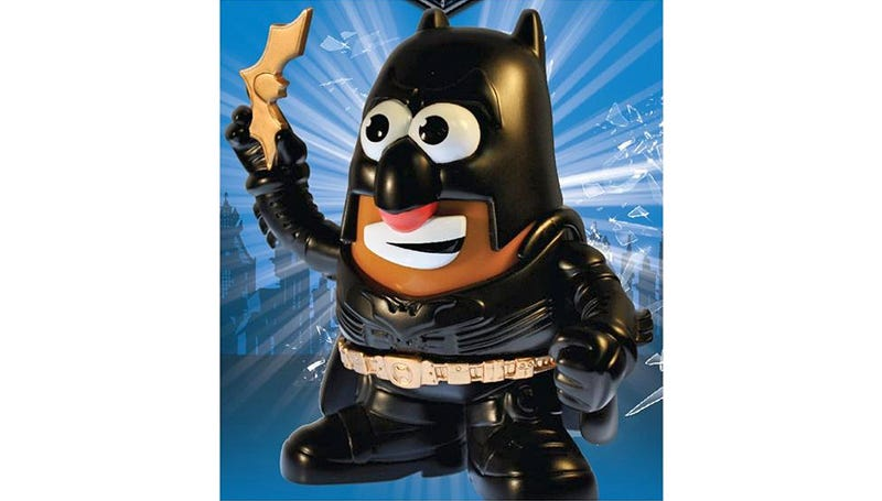 Illustration for article titled Batman Mr. Potato Head Is the Tuber Gotham Deserves
