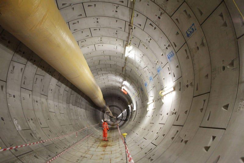 Illustration for article titled Así se construye uno de los nuevos túneles más grandes de Europa