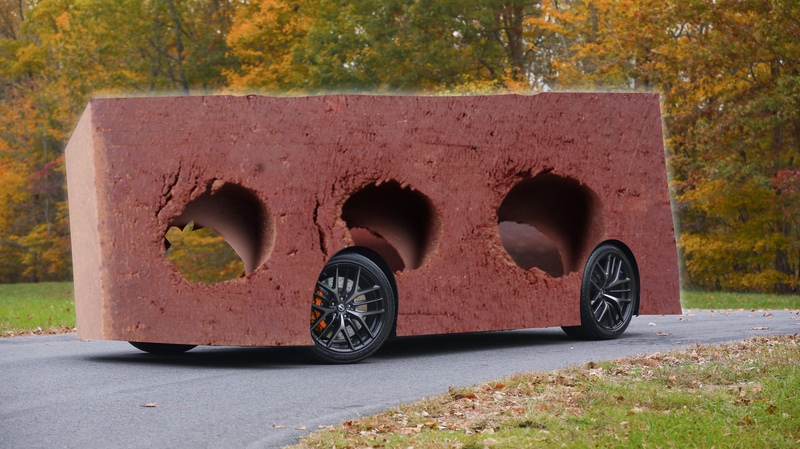Illustration for article titled Nissan Design Boss Wants Next GT-R to Be the 'World's Fastest Brick'