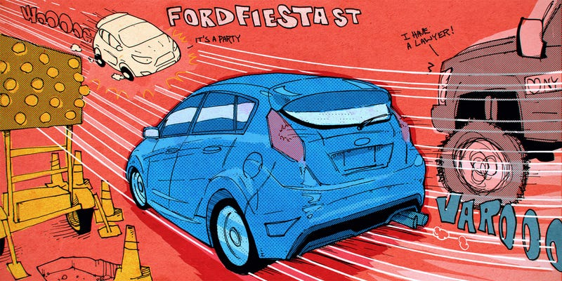 Illustration for article titled Mr. Regular Explains How The Specter Of Bad Luck Nearly Ruined His Fiesta ST Experience