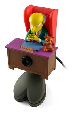 Illustration for article titled Mr. Burns Webcam is Nice, But It's No Futurama
