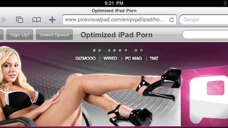 Порно а ipad