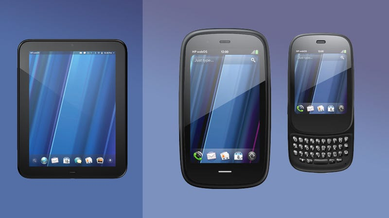 Illustration for article titled HP's WebOS Bounty: Touchpad Tablet, Pre 3 and Veer Smartphones