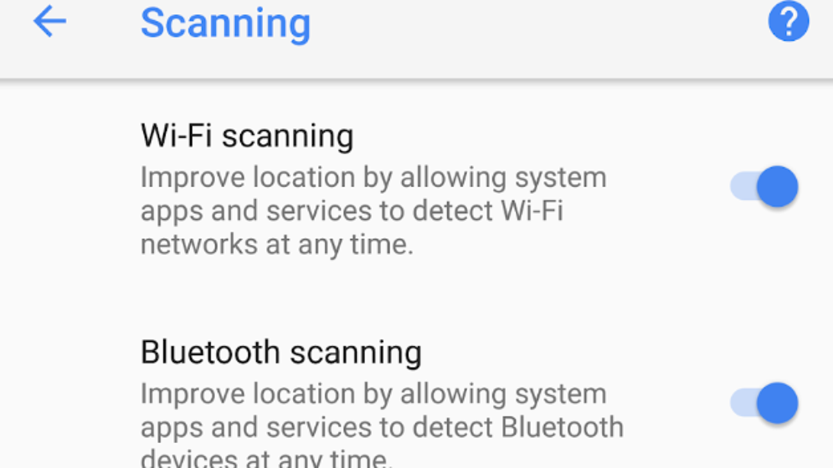 How to Disable the Automatic Wifi Wakeup Feature in Android Pie
