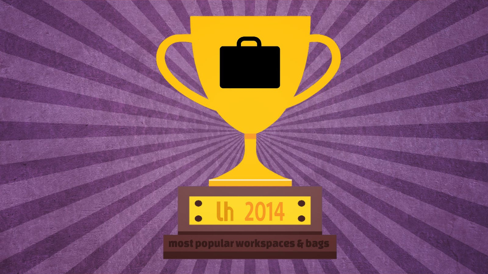 Most Popular Featured Bags and Workspaces of 2014
