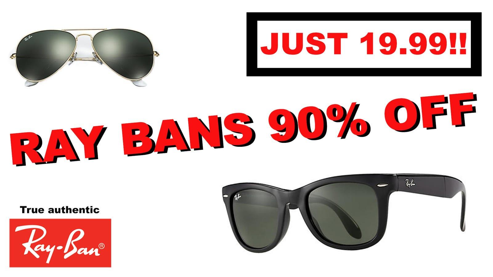 Marketing Win:Ray-Ban Won An Award For Its Incredible'Ray-Ban 90% Off True...