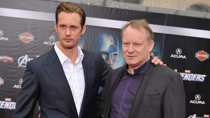 Illustration for article titled Stellan and Alexander Skarsgard Share a Father-Son Moment