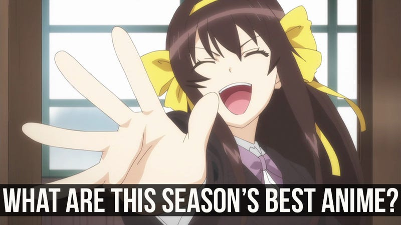 Poll: The Best Anime of Spring 2015